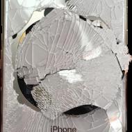 iPhone broken back glass, glass back iphone broken, repair iphone back glass